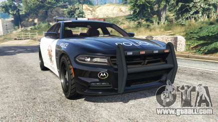 Dodge Charger RT 2015 LSPD [replace] for GTA 5