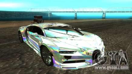 Bugatti Chiron белый for GTA San Andreas