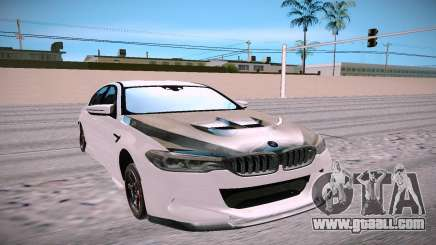 BMW M5 F90 white for GTA San Andreas