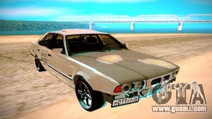 BMW E34 525 for GTA San Andreas