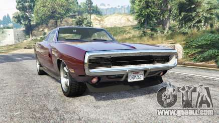 Dodge Charger RT SE (XS29) 1970 [replace] for GTA 5