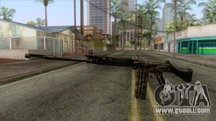 FN-FAL Camouflage for GTA San Andreas
