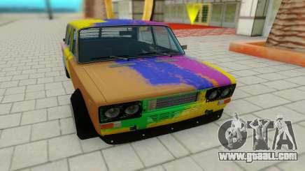 VAZ 2103 Hippie for GTA San Andreas