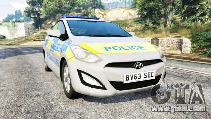 Hyundai i30 (GD) metropolitan police [replace] for GTA 5