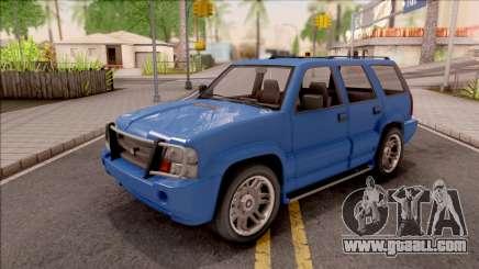 Declasse Granger Classic IVF for GTA San Andreas
