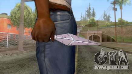 Ninja Kunai Weapon for GTA San Andreas