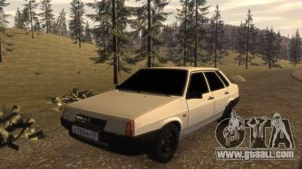 VAZ-21099 FIB for GTA 4