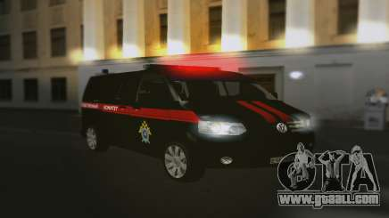 Volkswagen Transporter T5 Investigative Committee for GTA San Andreas
