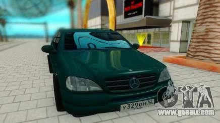 Mersedes-Benz ML 230 for GTA San Andreas