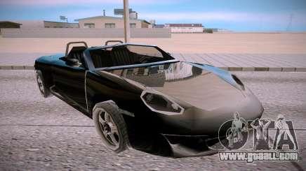 Ruf RK Spyder for GTA San Andreas