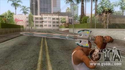 Marvel vs Capcom Infinity - Gamora Weapon 3 for GTA San Andreas