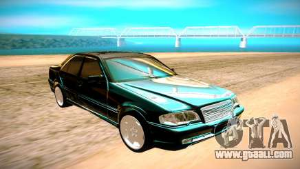 Mercedes-Benz C43 AMG for GTA San Andreas
