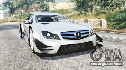 Mercedes-Benz C 63 AMG (C204) DTM v1.2 [replace] for GTA 5