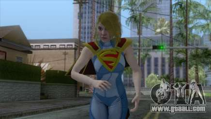 Injustice 2 - Supergirl for GTA San Andreas