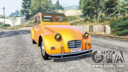 Citroen 2CV v1.2 [replace] for GTA 5