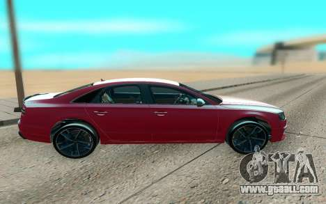 Audi S8 TMT for GTA San Andreas left view