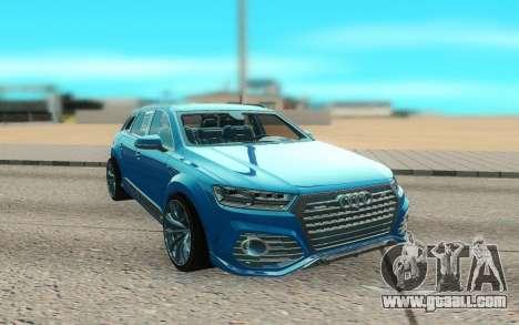 Audi Q7 ABT for GTA San Andreas