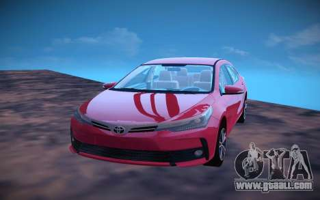 Toyota Corolla 2018 for GTA San Andreas left view