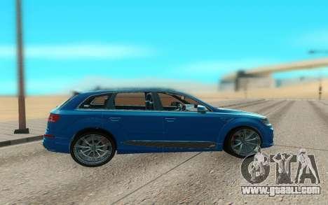 Audi Q7 ABT for GTA San Andreas left view