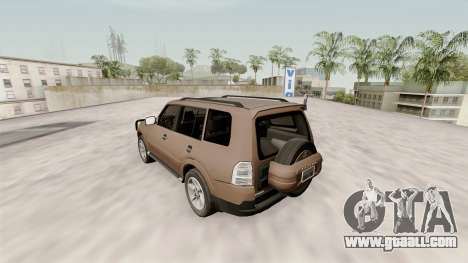 Mitsubishi Pajero v1.1 for GTA San Andreas
