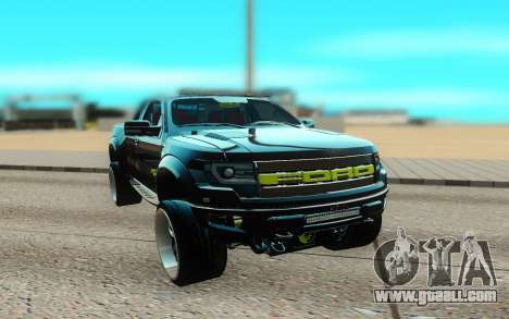 Ford 150 Raptor 2012 for GTA San Andreas