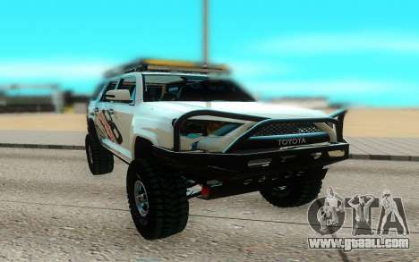 Toyota FJ Cruiser 4 Runner for GTA San Andreas
