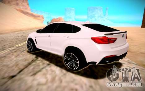 BMW X6M 50D for GTA San Andreas