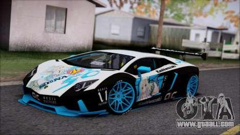 Lamborghini Aventador v3 for GTA San Andreas