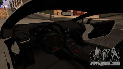 Lamborghini Huracan Pamdem Kit for GTA San Andreas back view