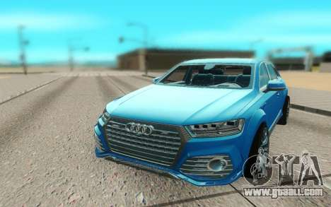 Audi Q7 ABT for GTA San Andreas right view