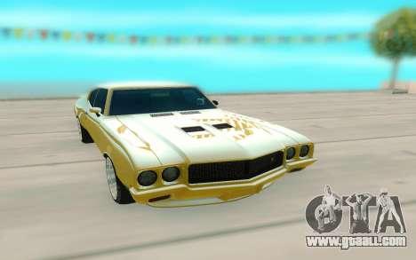 1970 Buick GSX V10 for GTA San Andreas