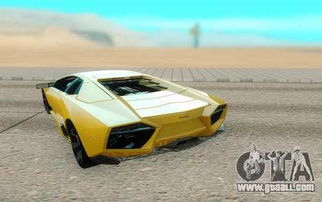 Lamborghini Reventon for GTA San Andreas right view
