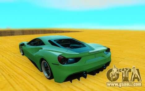 Ferrari 488 GTB for GTA San Andreas