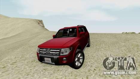 Mitsubishi Pajero SA Plate for GTA San Andreas