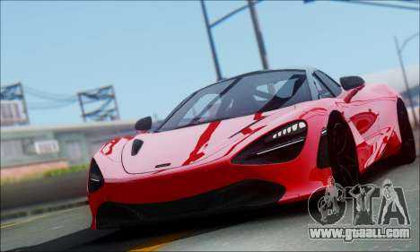 McLaren 720S for GTA San Andreas
