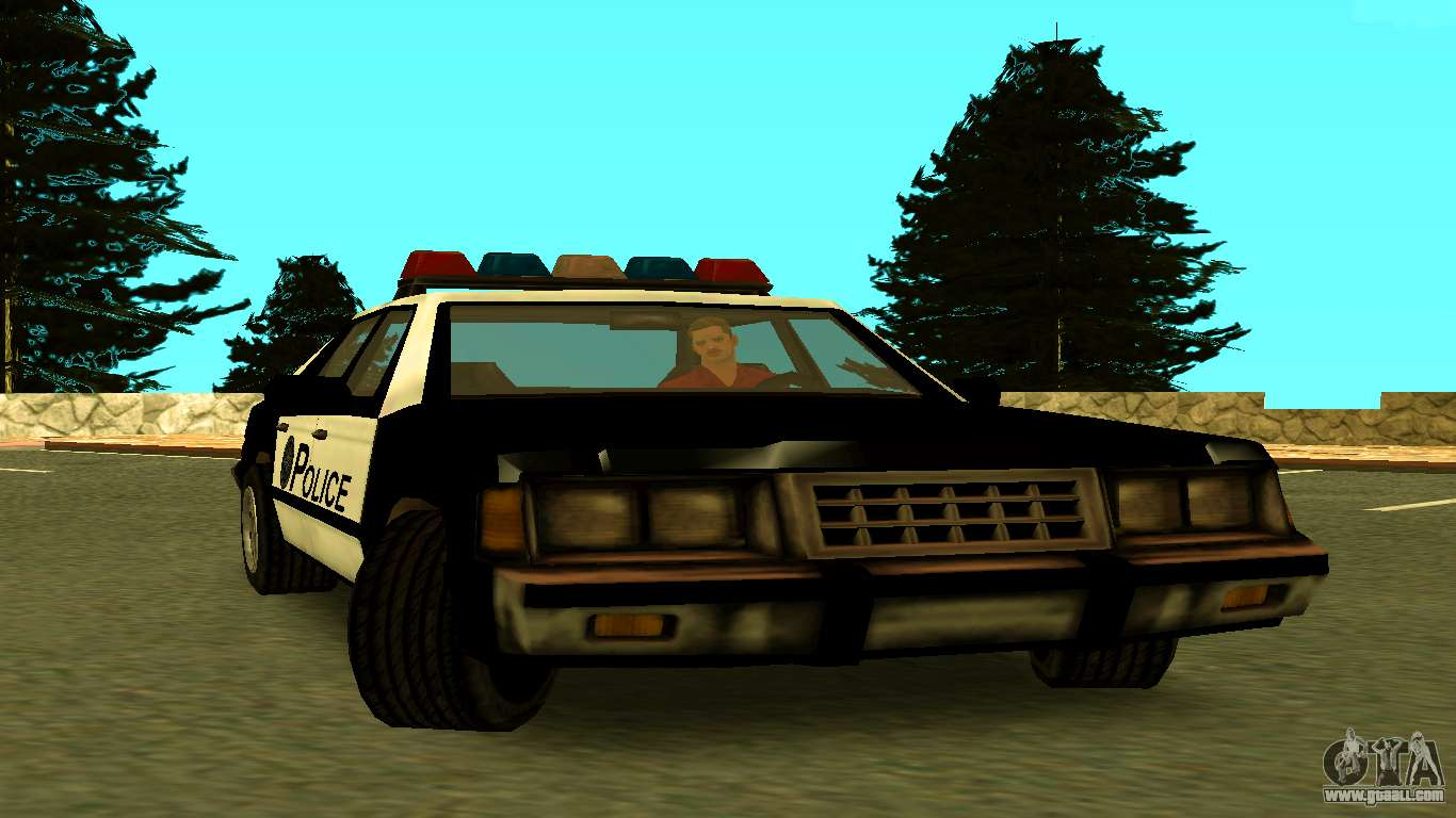 VCPD Cruiser from GTA Vice City for GTA San Andreas