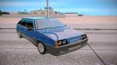 2109 blue for GTA San Andreas