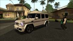 Mercedes-Benz G65 Azerbaijan Edition for GTA San Andreas