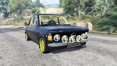 Zastava 1100p rally v2.0 [replace] for GTA 5