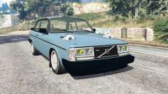 Volvo 242 Turbo v1.2 [replace] for GTA 5