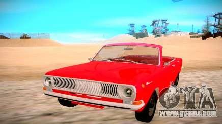 GAZ 24 for GTA San Andreas