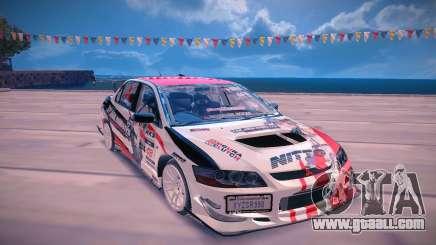 Mitsubishi Lancer Evolution 9 for GTA San Andreas