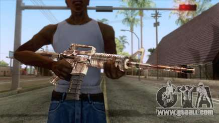 Crossfire M4A1 Camo for GTA San Andreas