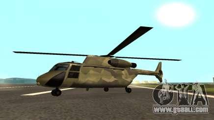 MFR Cargobob Rider Jungle Concept for GTA San Andreas