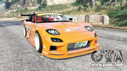 Mazda RX-7 (FD3S) Kazama v1.1 [replace] for GTA 5