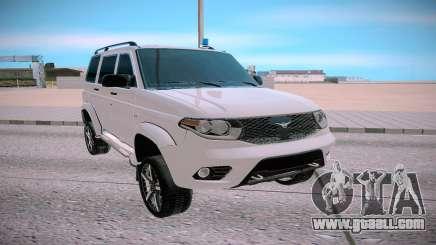 UAZ Patriot white for GTA San Andreas