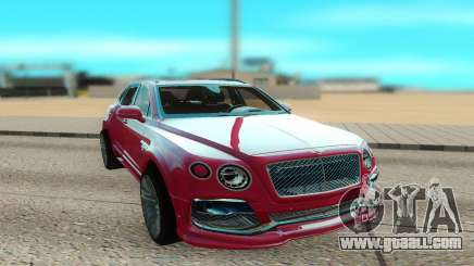 Bentley Bentayga Startech for GTA San Andreas