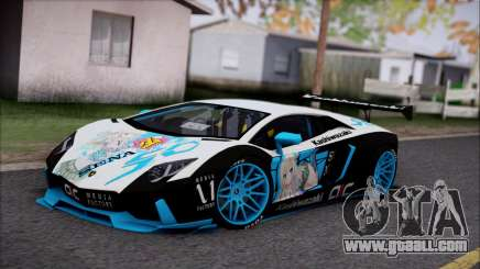Lamborghini Aventador v3 for GTA San Andreas