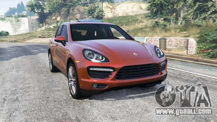 Porsche Cayenne Turbo (958) 2012 [replace] for GTA 5