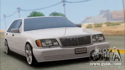 Mercedes-Benz W140 S600 TUNING for GTA San Andreas